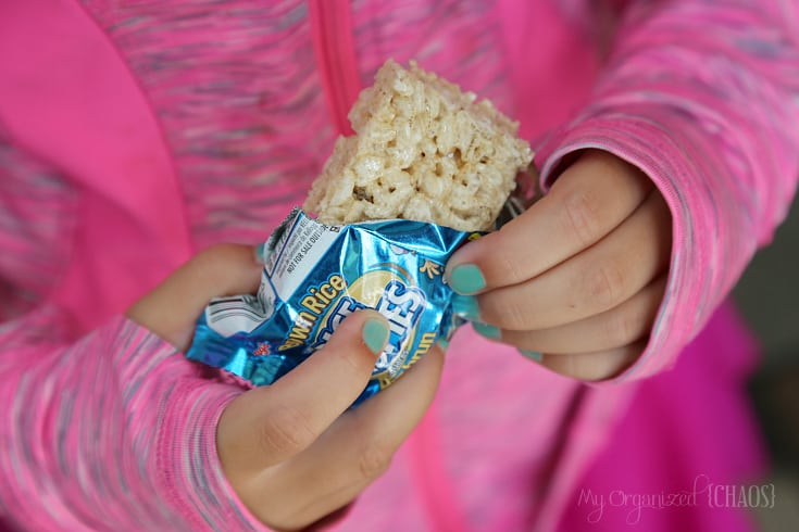 school lunches Rice Krispies Squares Brown Rice Bars