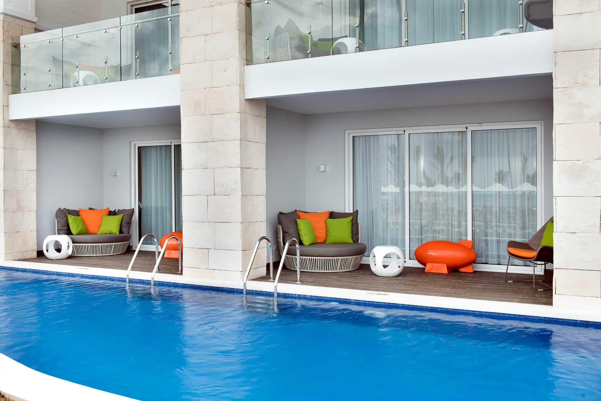 swim up suite Nickelodeon Hotels & Resorts Punta Cana