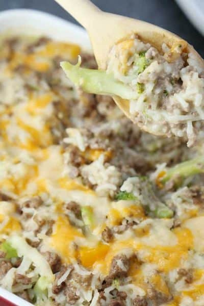 Cheesy Rainbow Rice with Ground Beef – An Easy Recipe Kids Can Make
