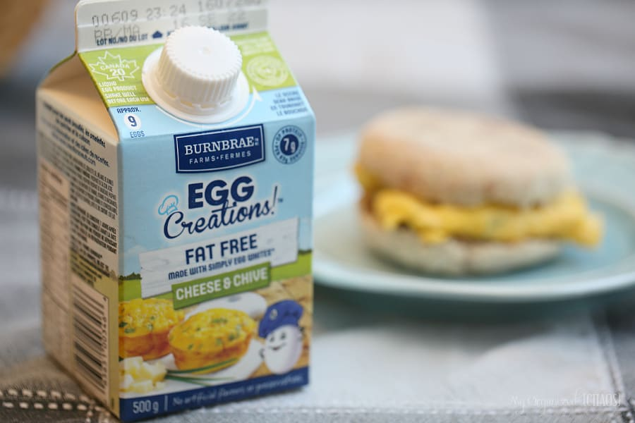 Quick and Easy Breakfast Sandwiches burnbrae farms egg creations eggsforlife