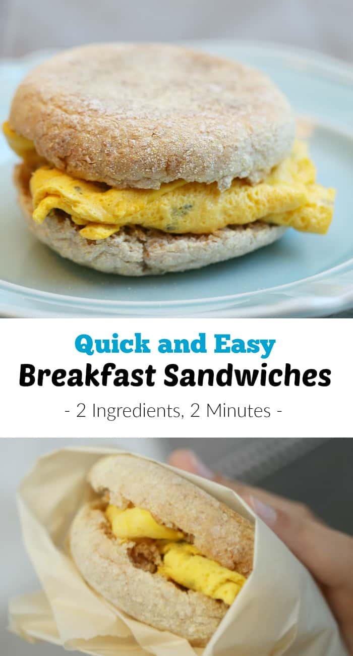 Quick and Easy Breakfast Sandwiches recipe