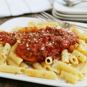 Slow-Cooker Chicken Bolognese