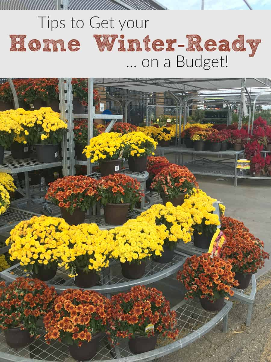 Tips to Get your Home Winter Ready on a Budget