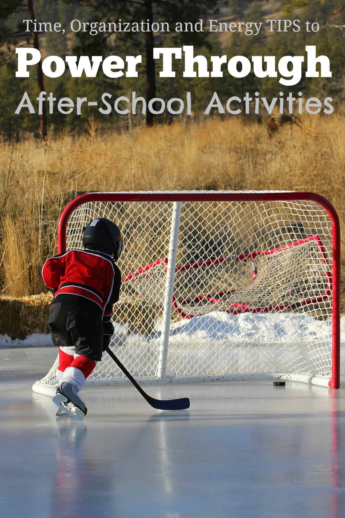 Tips to Power Through After-School Activities