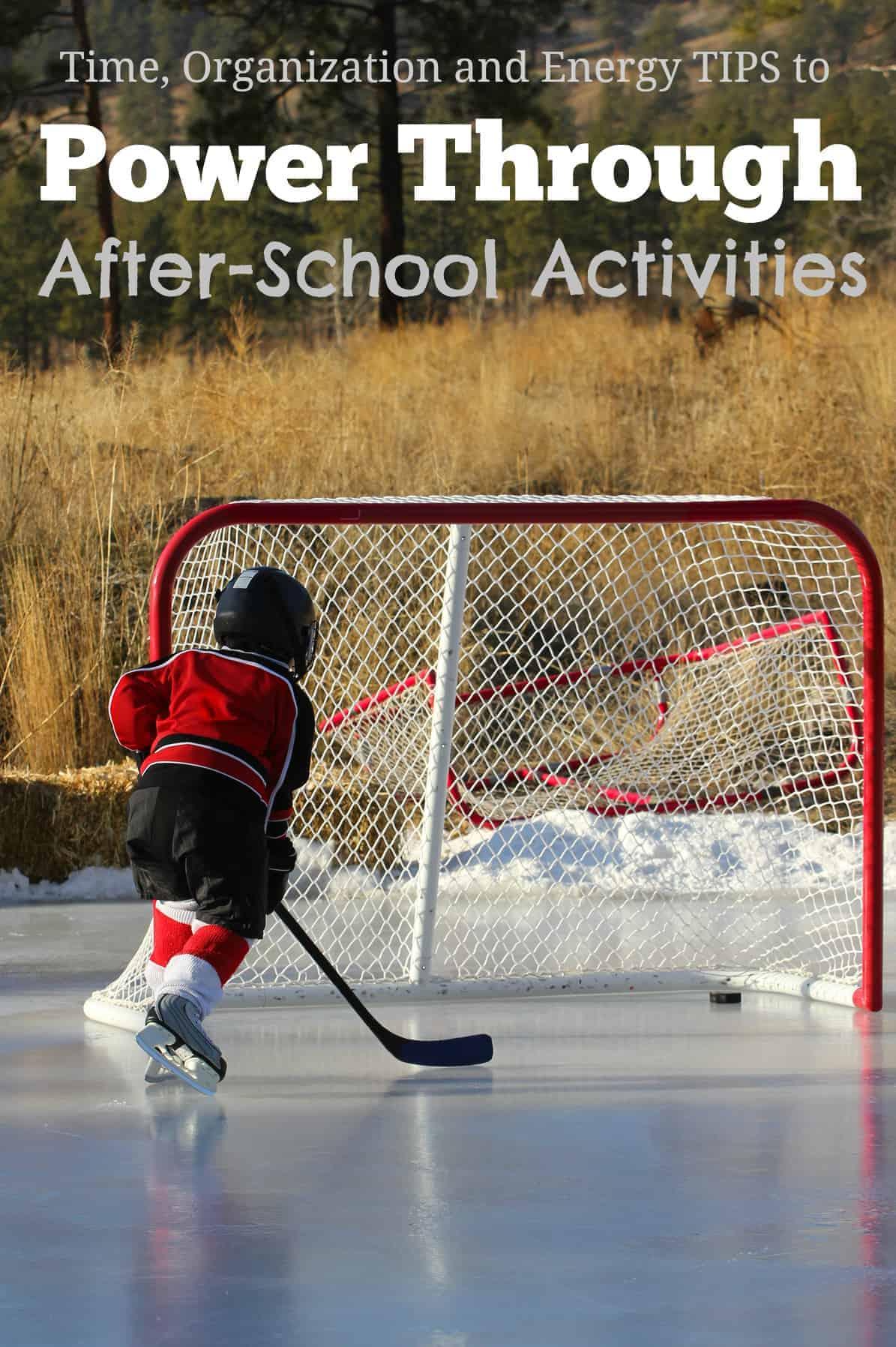 Tips to Power Through After-School Activities