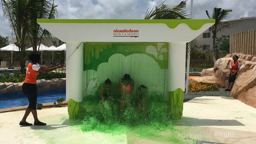 get slimed at Nickelodeon Hotels & Resorts Punta Cana aqua nick