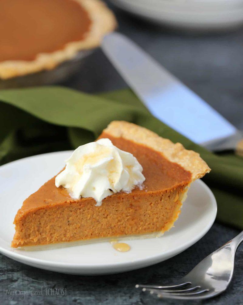 maple pumpkin pie recipe easy simple delicious