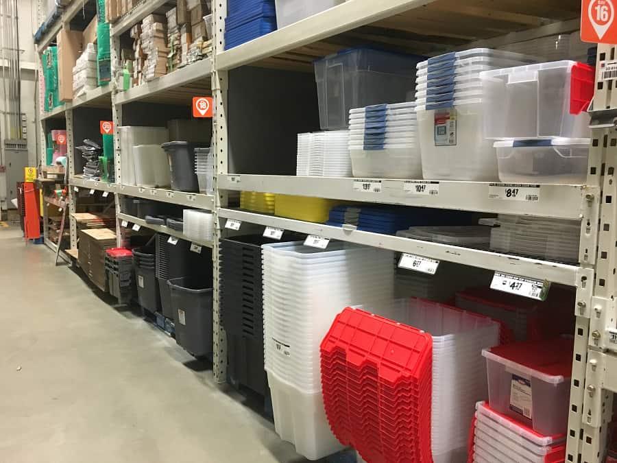 prepare home for winter organization storage garage solutions home depot
