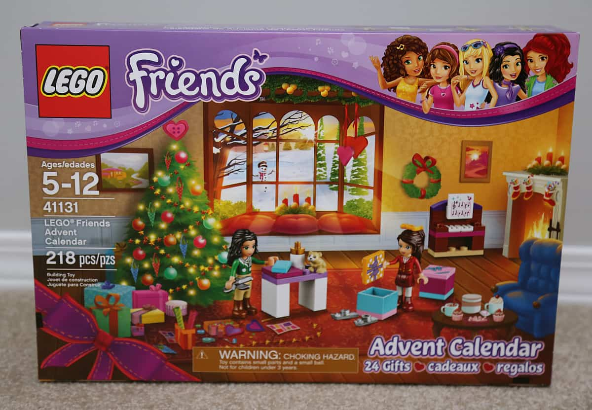 Lego Friends Advent Calendar indigokids holiday wishlist 2016