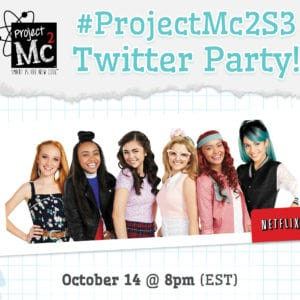 Celebrate the Release of Project Mc2 Season 3 with a Twitter Party! #ProjectMC2S3