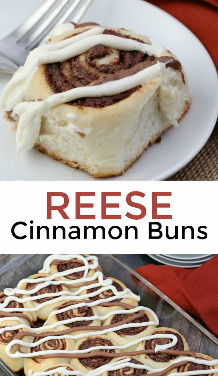 REESE Cinnamon Buns recipe