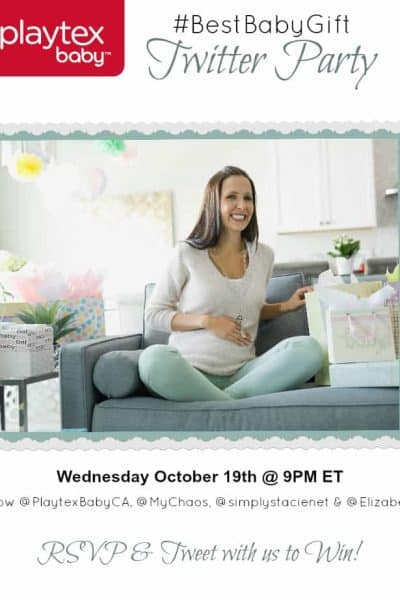 Come to the #BestBabyGift Twitter Party on October 19th!