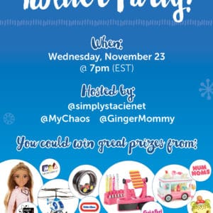 Come to the #MGAHoliday Twitter Party on November 23rd