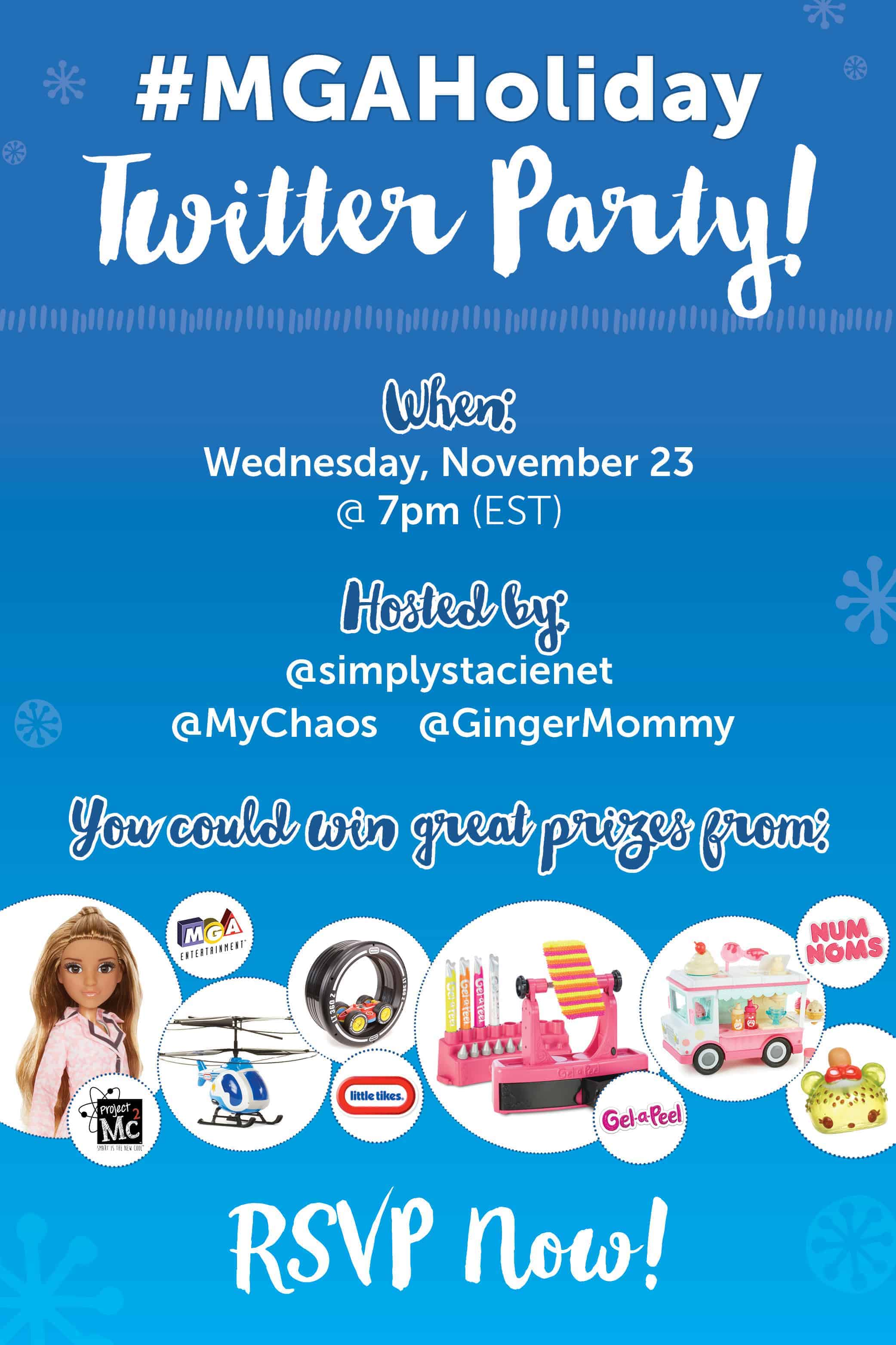 MGAHoliday Twitter Party