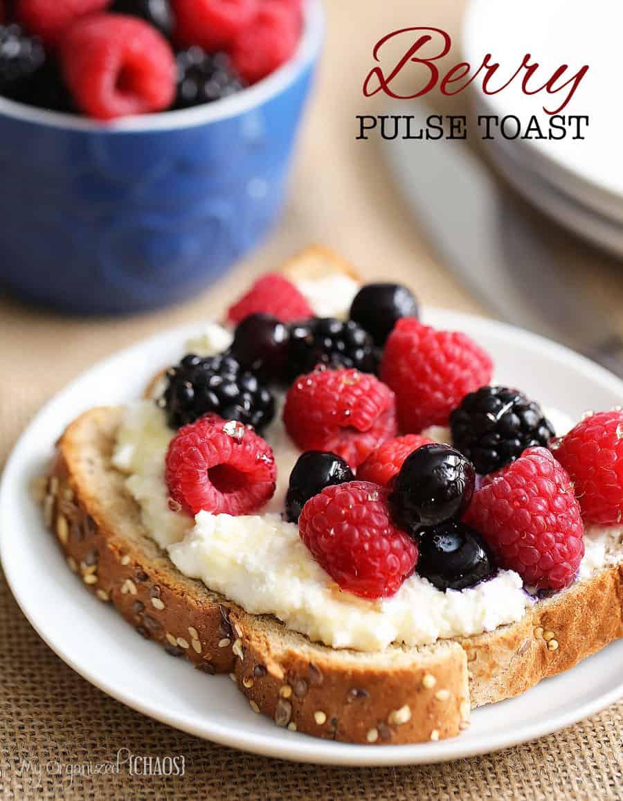 berry pulse toast recipe