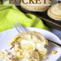 Chicken Cordon Bleu Pockets