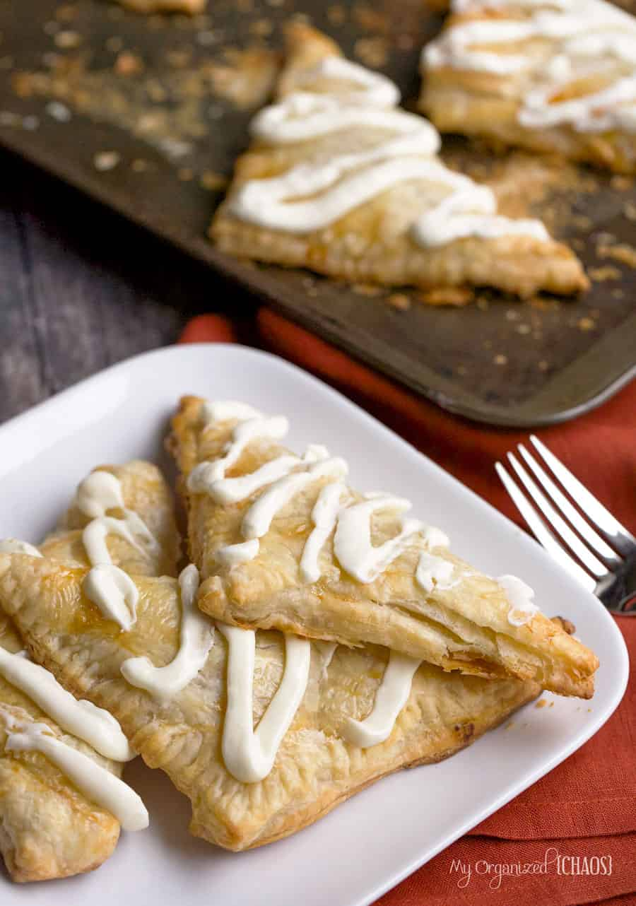 easy turnovers pumpkin pie