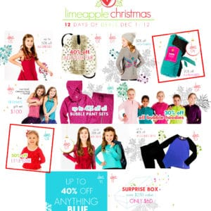 Limeapple 12 Days of Christmas Sale