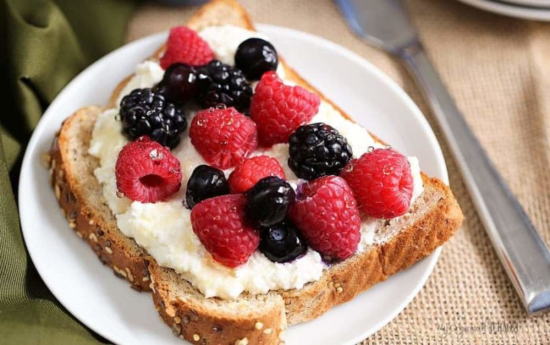 power berry pulse toast