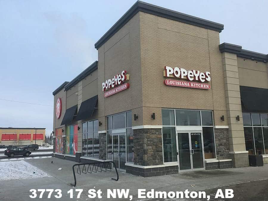 Alberta has Two New Popeyes Restaurant Locations!