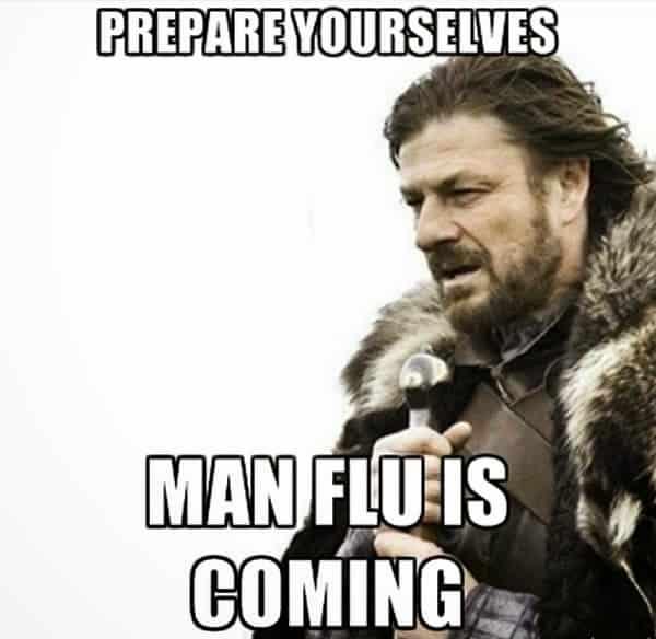 man flu funny
