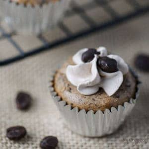 Mini Mocha Cheesecakes