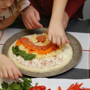 Get Kids Creative with Pizza Geometry-zza