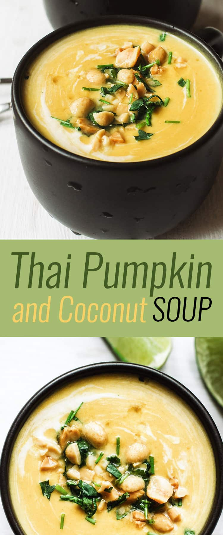 Have you ever tried a soup like Thai Pumpkin and Coconut before?