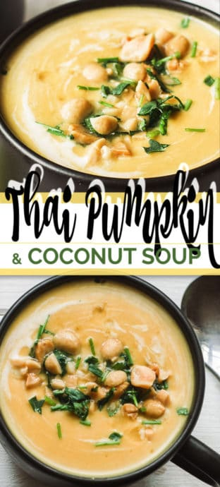 thai soup with text