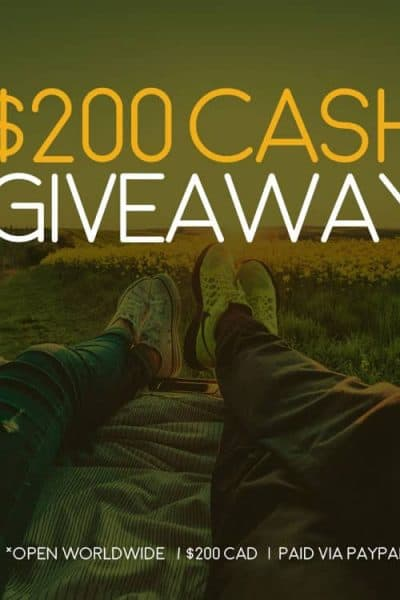 Enter to Win $200CAD via PayPal