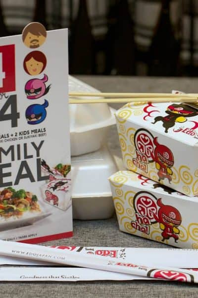 Enjoy a Family Night In with Edo Japan