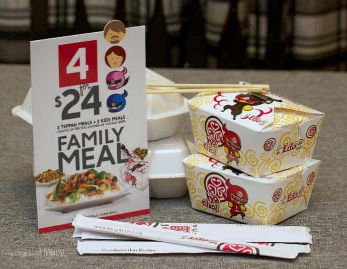 family meal deal edo japan canada