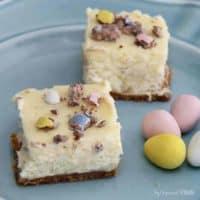 Mini Egg Cheesecake Bites