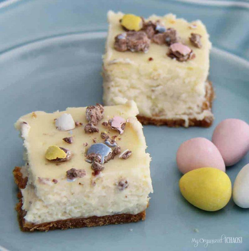 Mini Egg Cheesecake