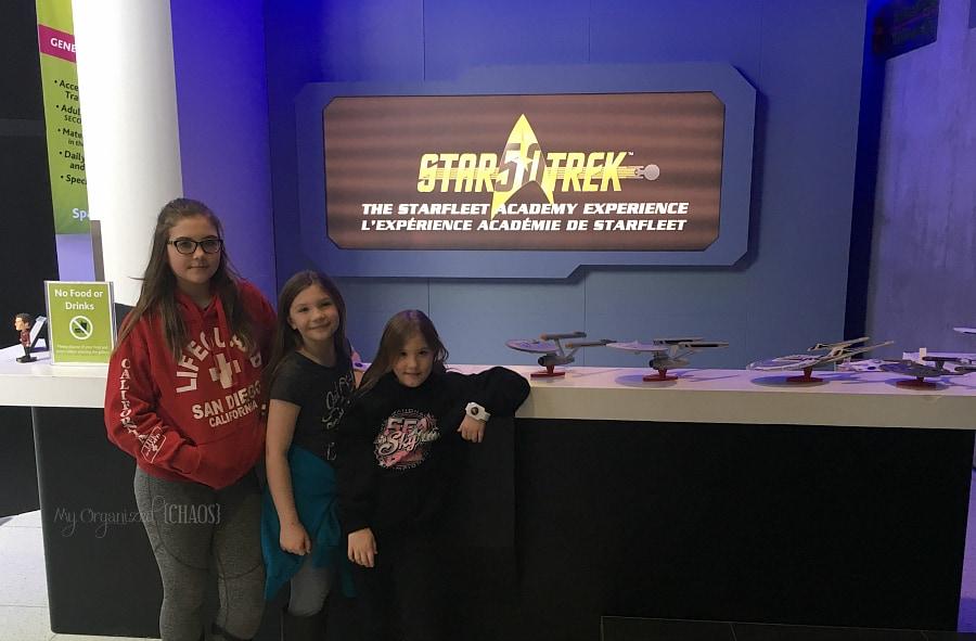 Beam into the Star Trek Academy at Telus Spark