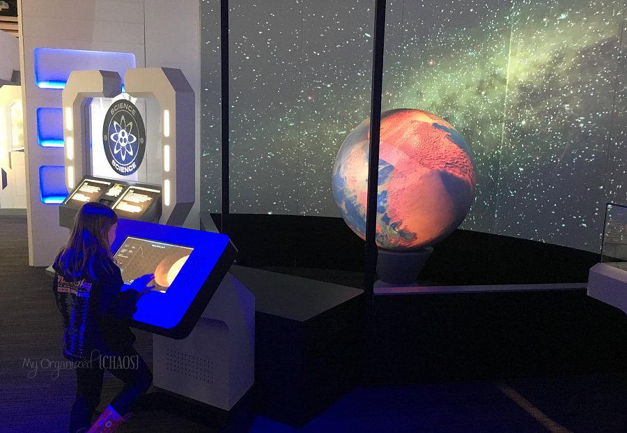 Star trek Starfleet Academy Experience exhibit at Telus Spark