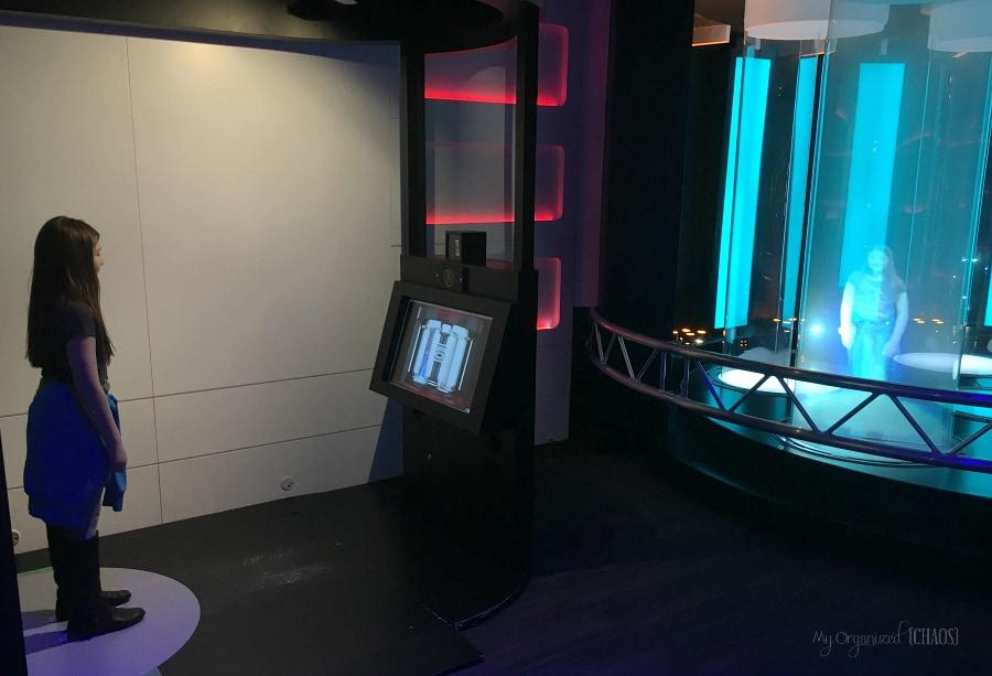 Startrek Starfleet Academy Experience exhibit at Telus Spark