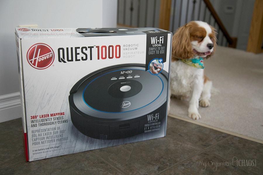 New Hoover Quest1000 Robot Vacuum
