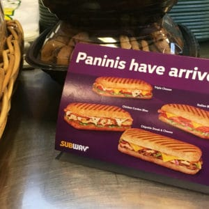 Subway® Canada introduces new Paninis