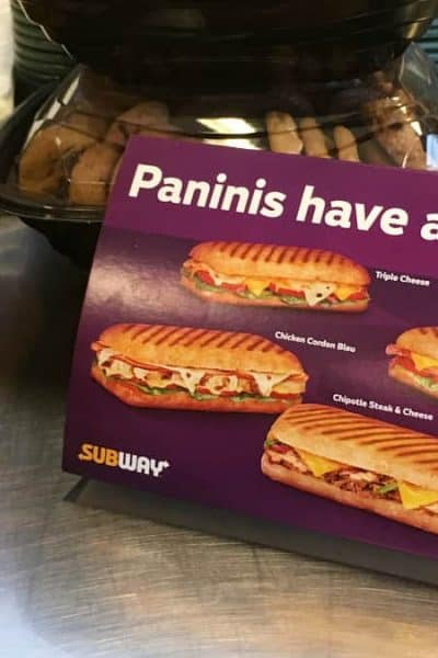 Subway Canada introduces new Paninis