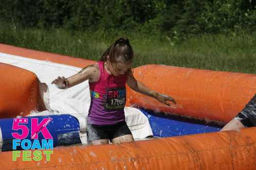 2017 The 5K Foam Fest Red Deer