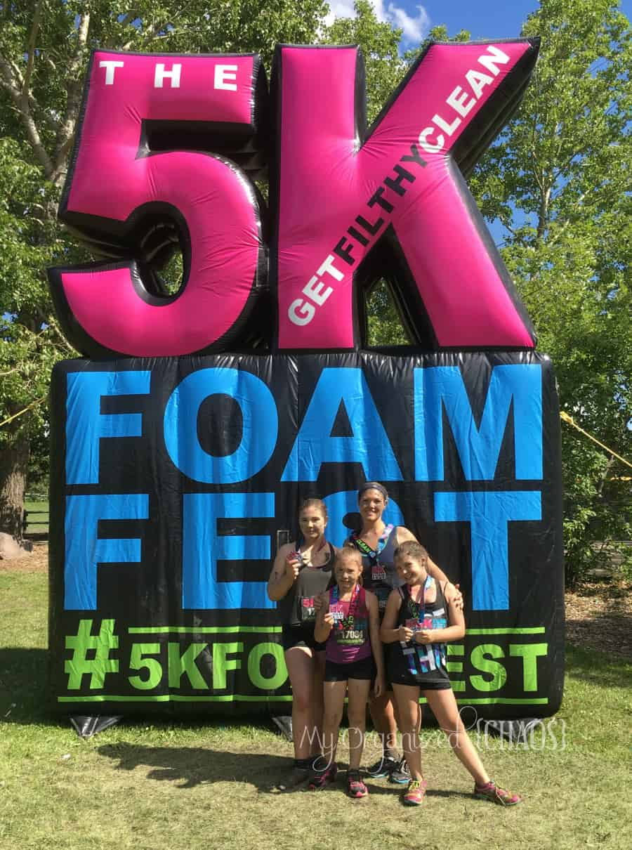 5K Foam Fest tips, information and review