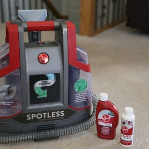 A Cleaner Cleaner – Hoover Spotless Portable Carpet & Upholstery Cleaner