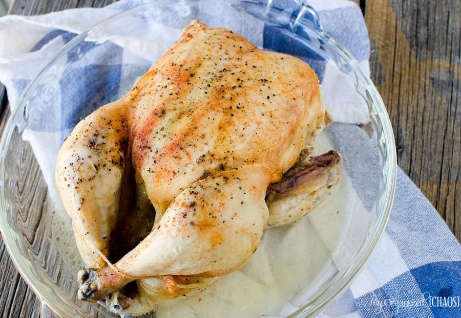 How to safely cook a whole chicken in the slow cooker