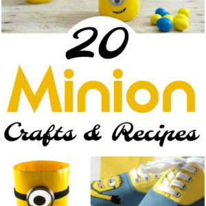 20 Minion Crafts and Recipes