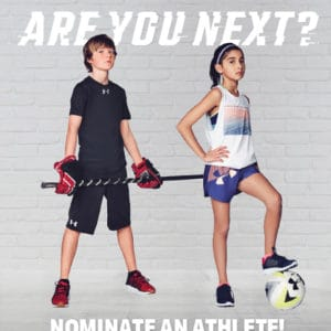 Nominate your Young Athlete as Ambassadors for Team UA NEXT