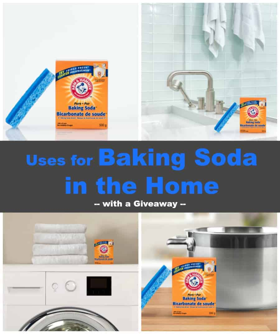 Uses for Baking Soda in the Home {with Giveaway}