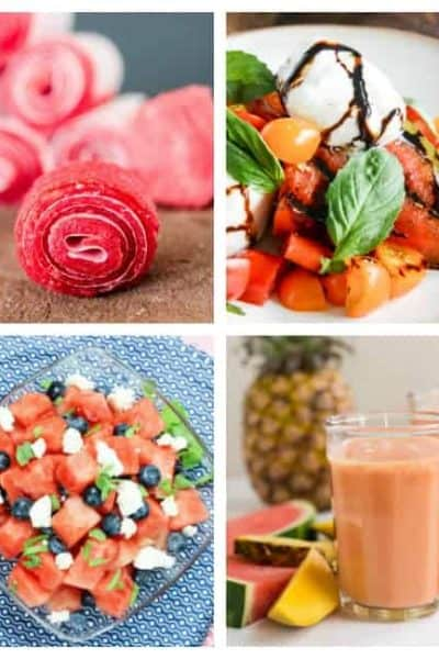 30+ Delicious Watermelon Recipes