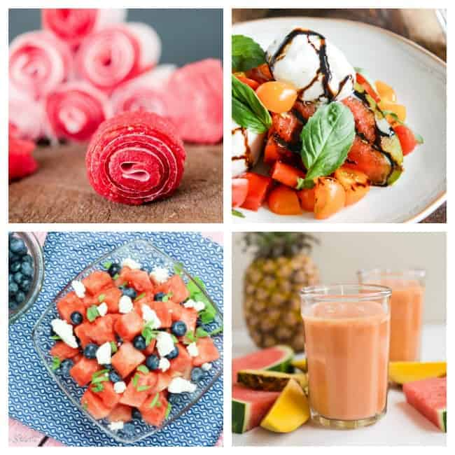 30+ Delicious Watermelon Recipes to fall in love with this summer