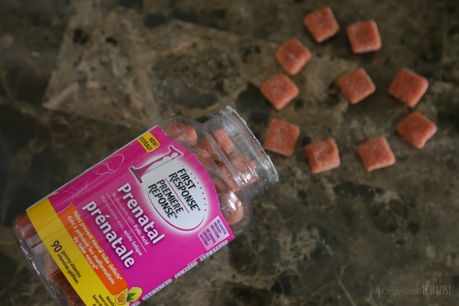 Pregnancy Essentials First Response Prenatal Multivitamin Gummies